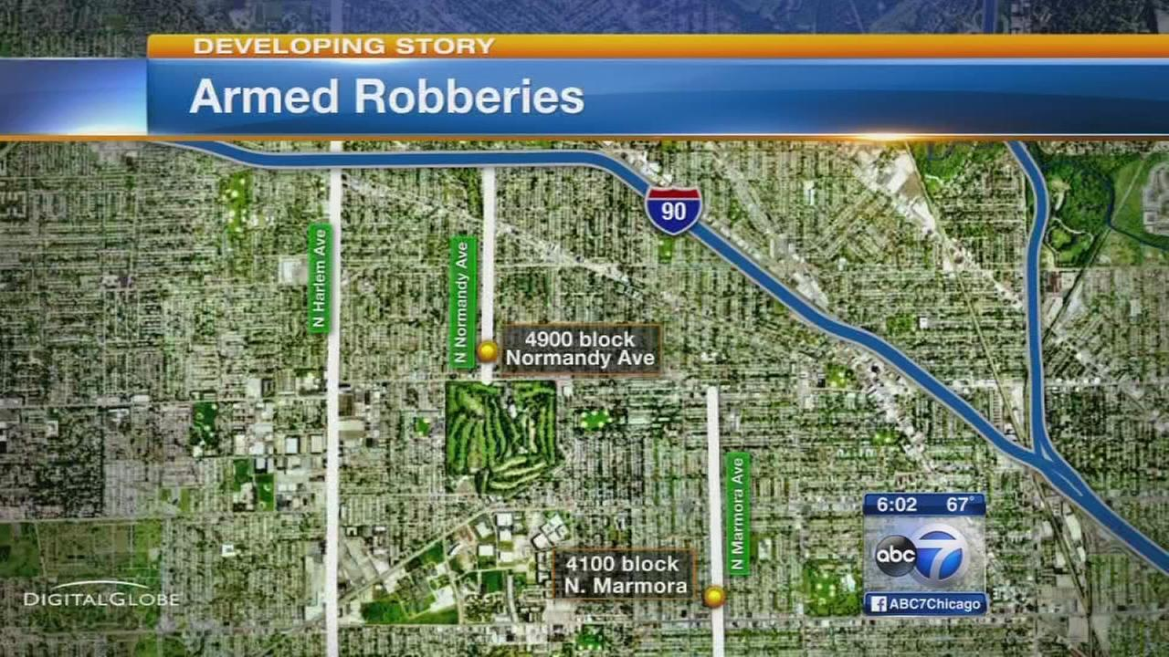 2 delivery drivers robbed on Northwest Side