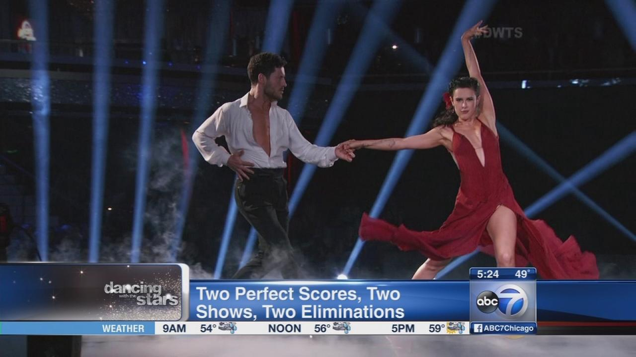 2 perfect scores on Dancing with the Stars