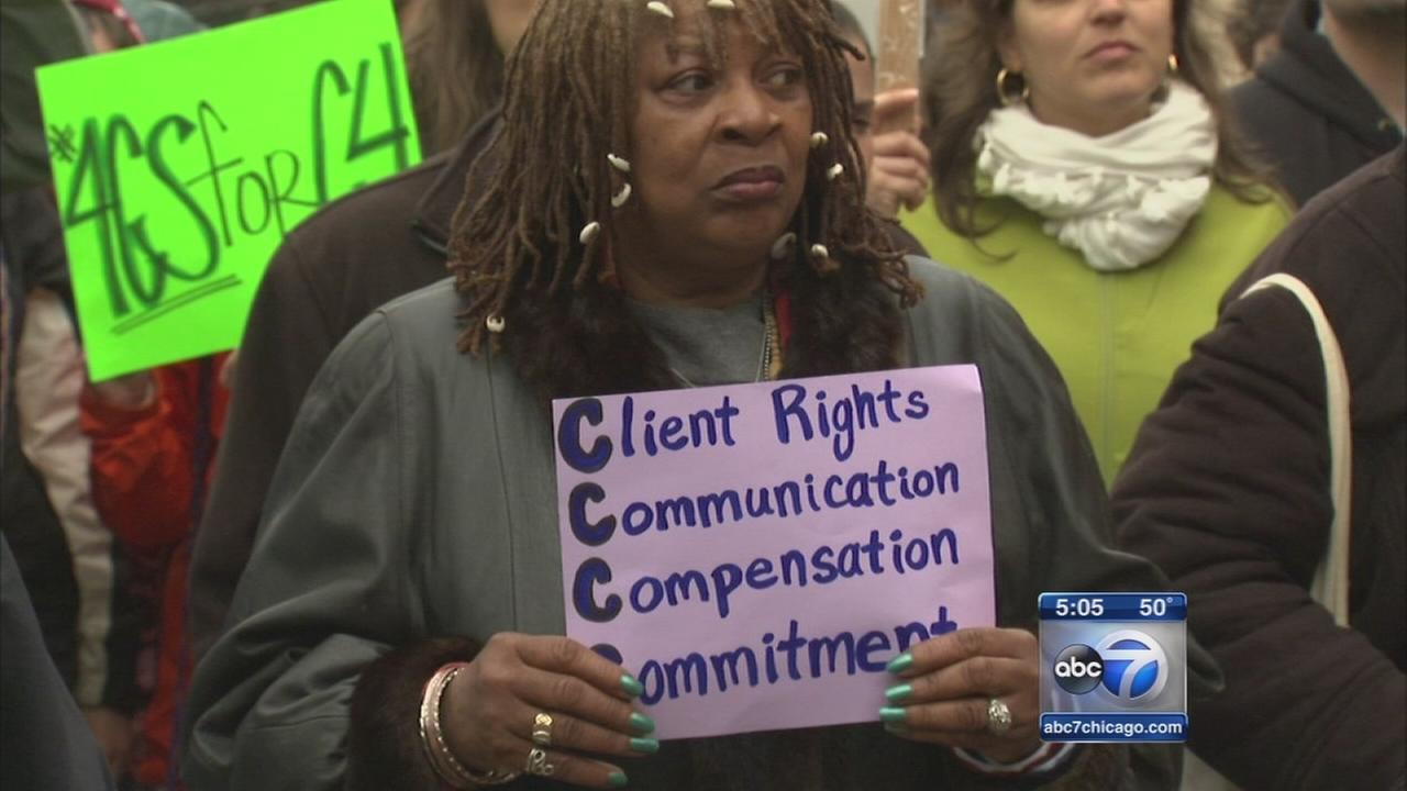 Protests over closure of counseling centers
