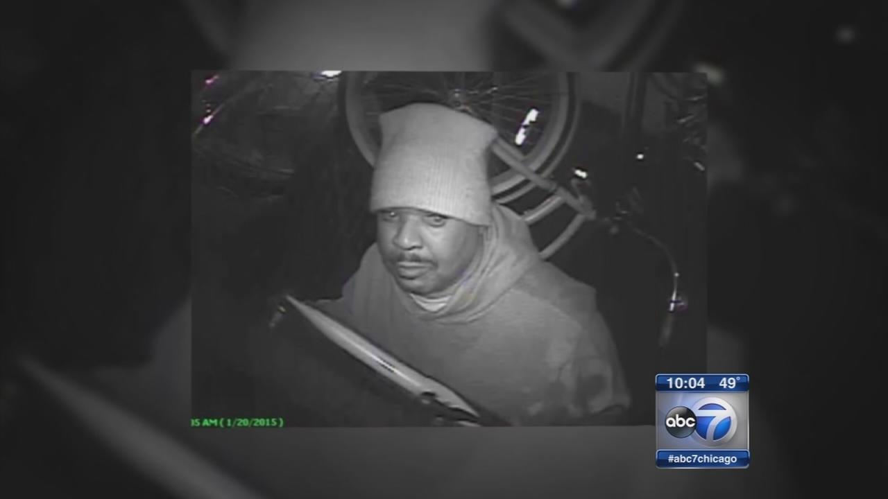 North Side burglar strikes again