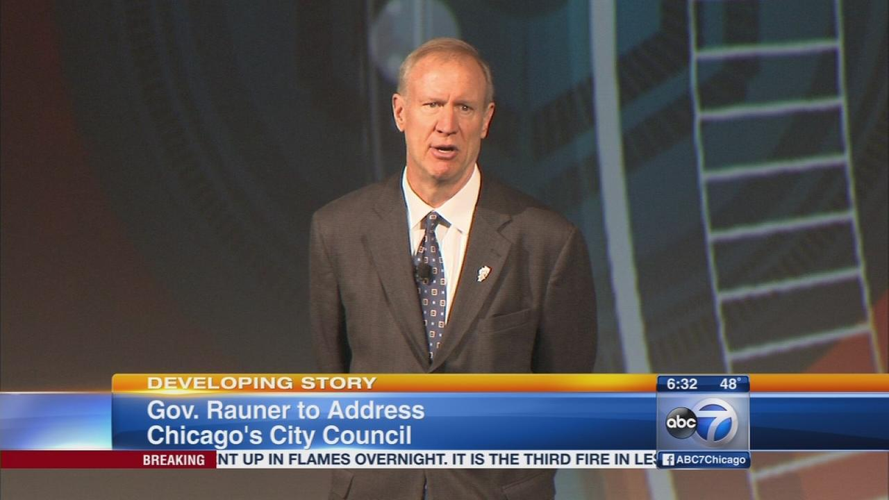 Rauner to be 1st governor to address City Council in recent history