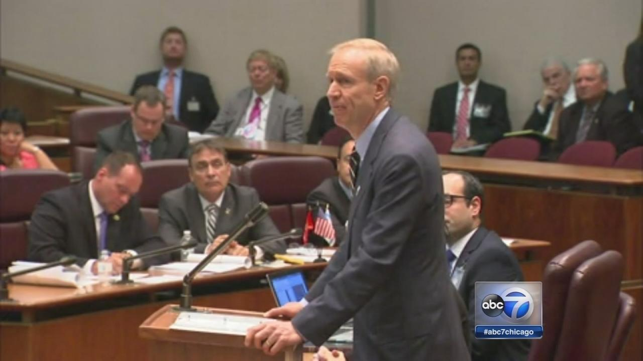 Gov. Rauner addresses City Council
