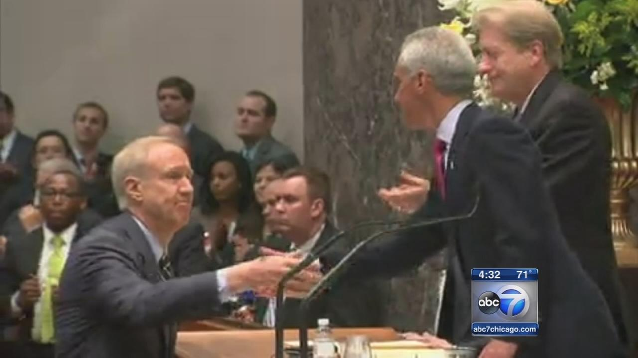 Rauner addresses City Council