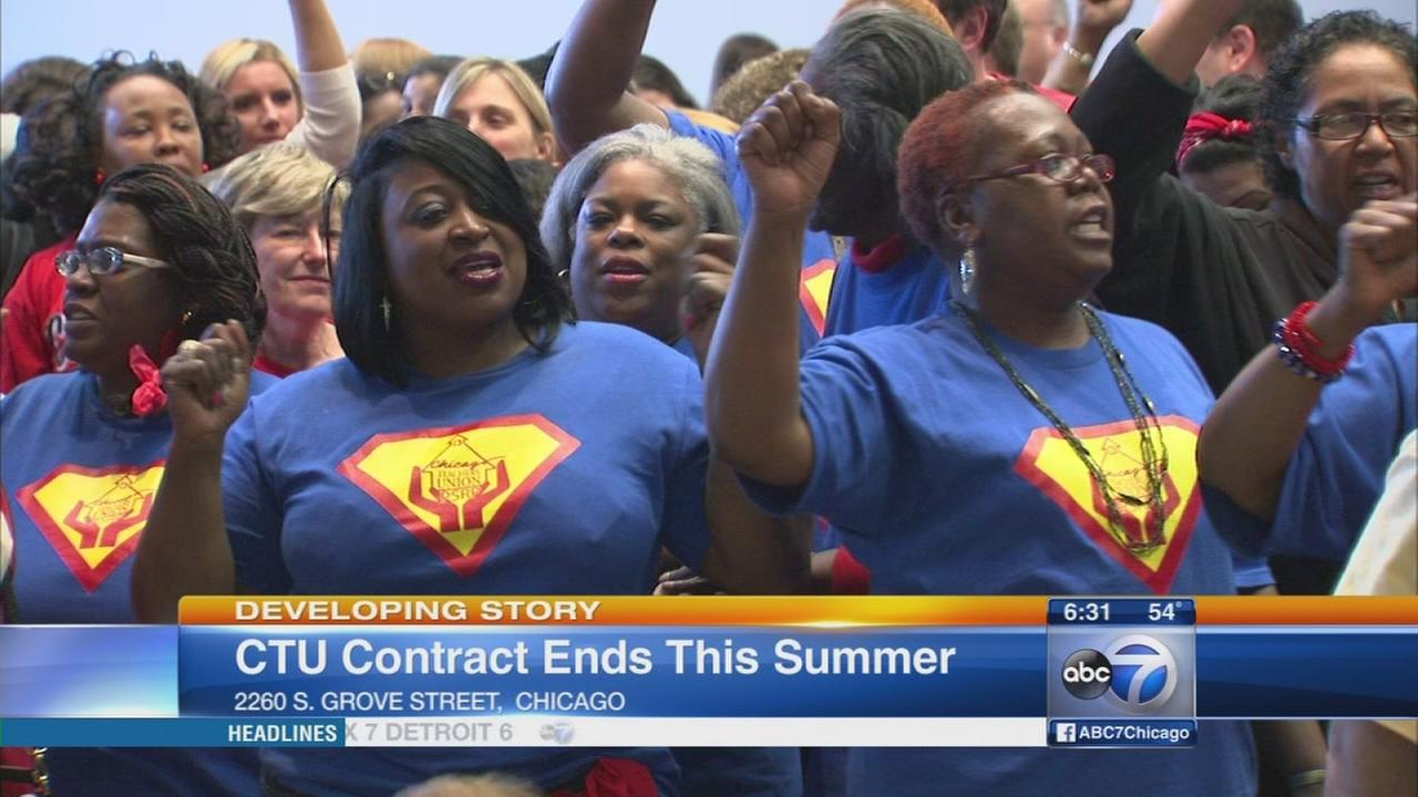 Contract negotiations heat up between CTU, CPS