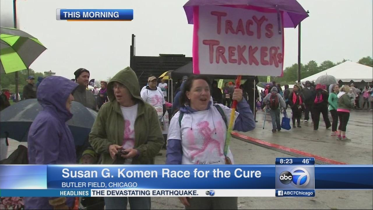 Susan G. Komen Chicagos Race for the Cure