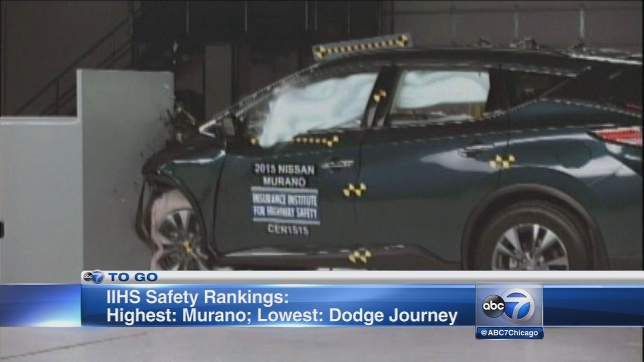 3 midsize SUVs get top safety ratings