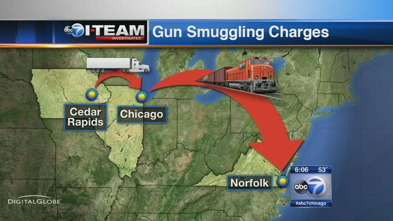 Feds: Guns smuggled from Midwest to Middle East