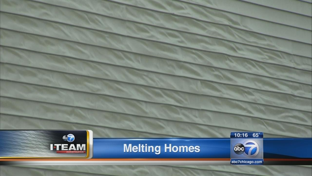 Melting vinyl siding raises concern among suburban homeowners