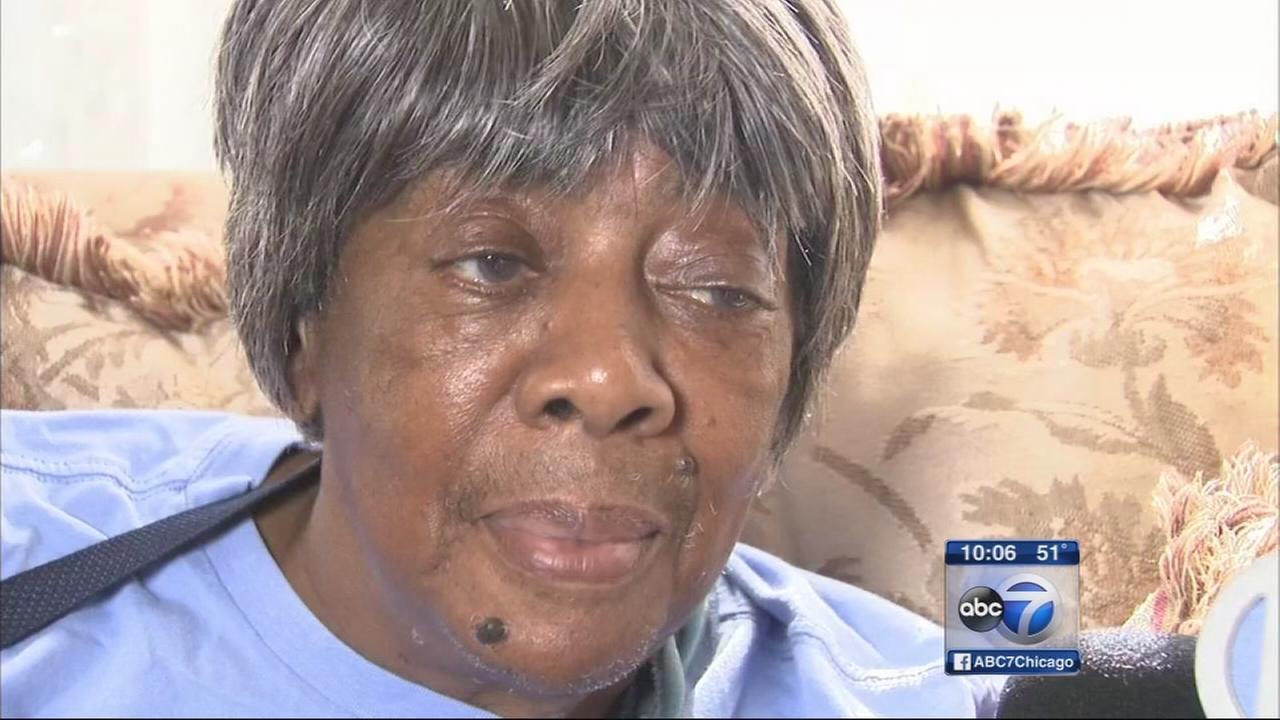 Grandmother shot on porch talks