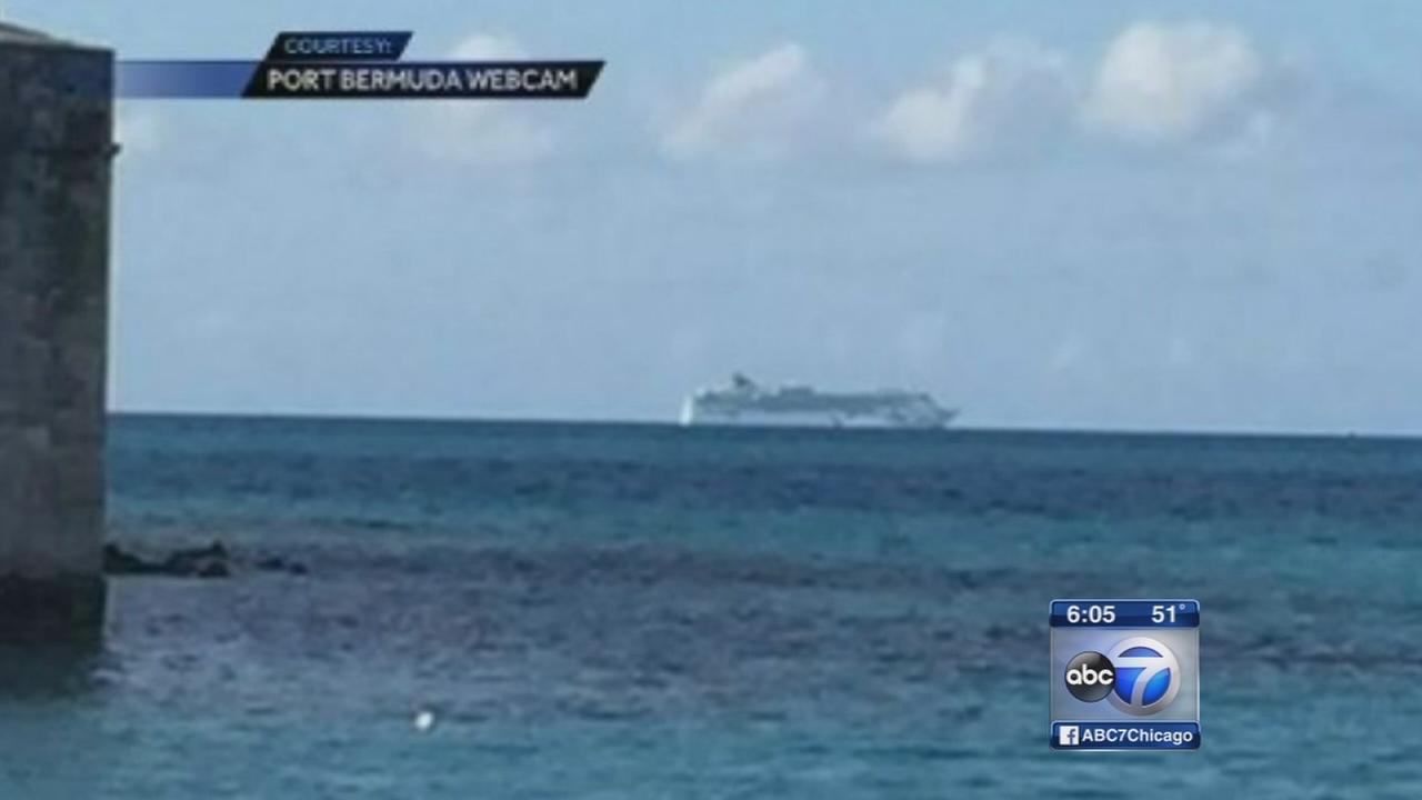 Cruise ship runs aground in Bermuda