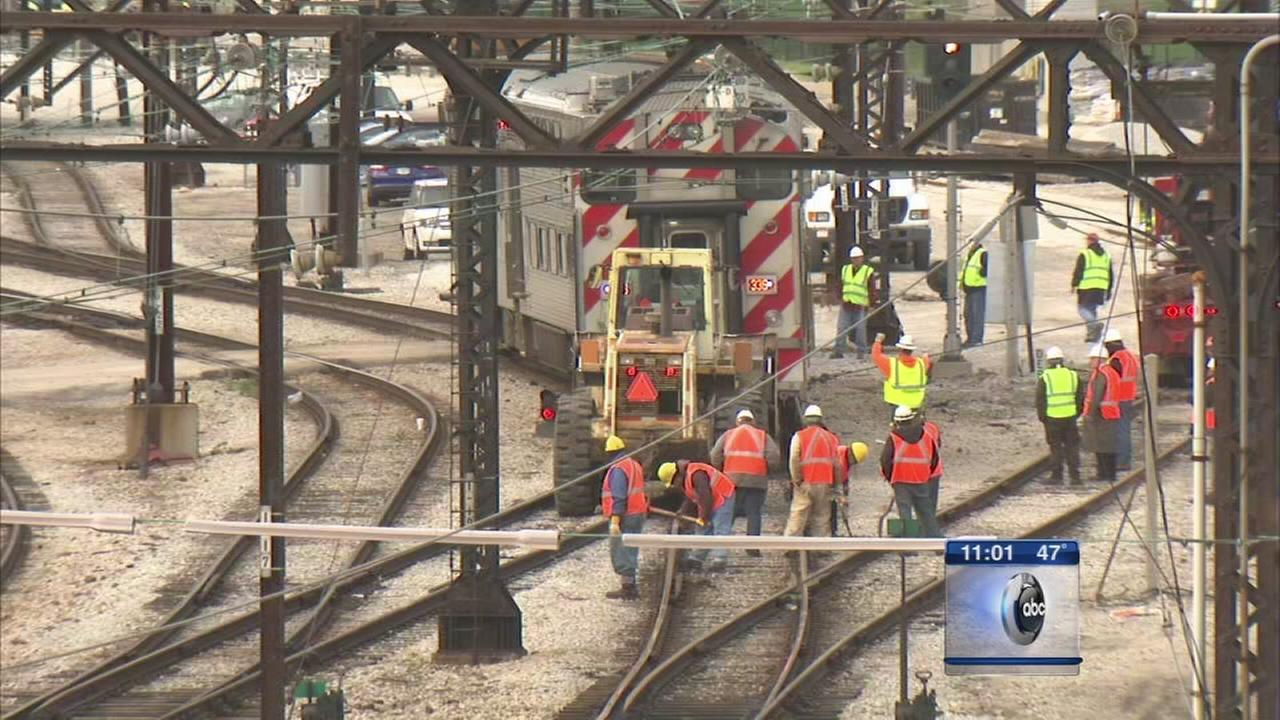 Metra Electric back on track after derailment