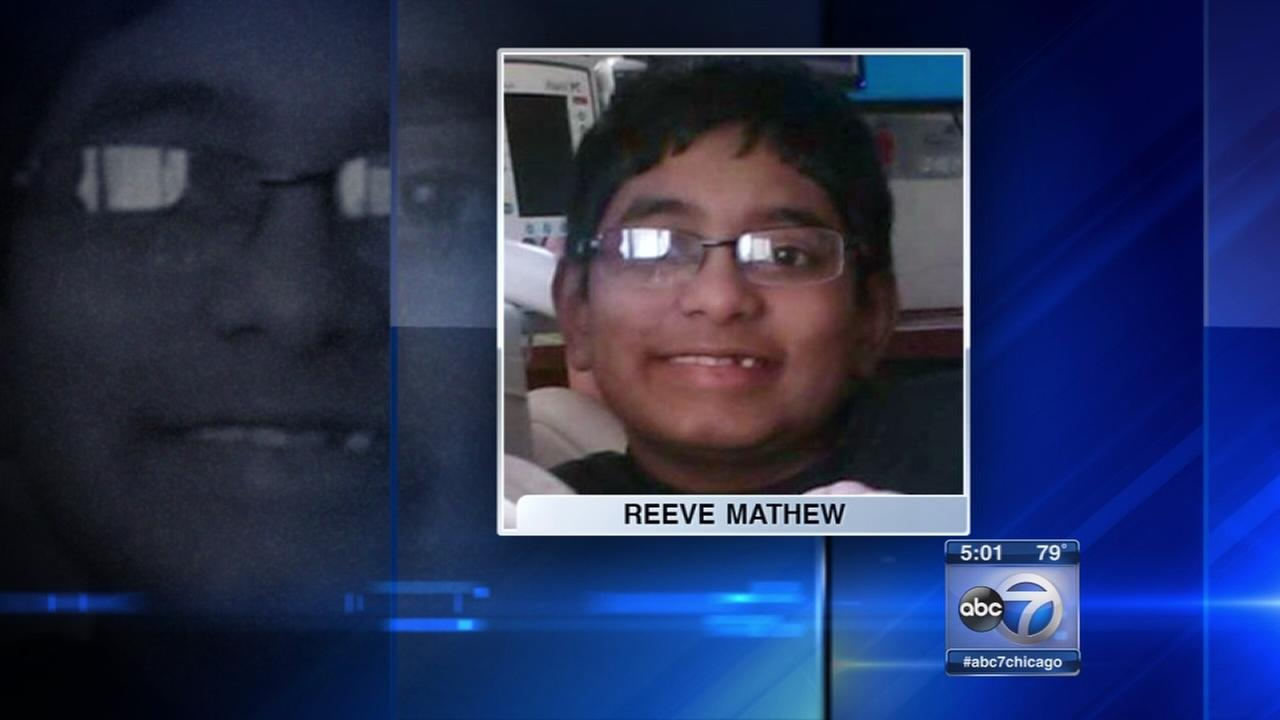 Reeve Mathew, 10, dies in I-94 crash near Gurnee