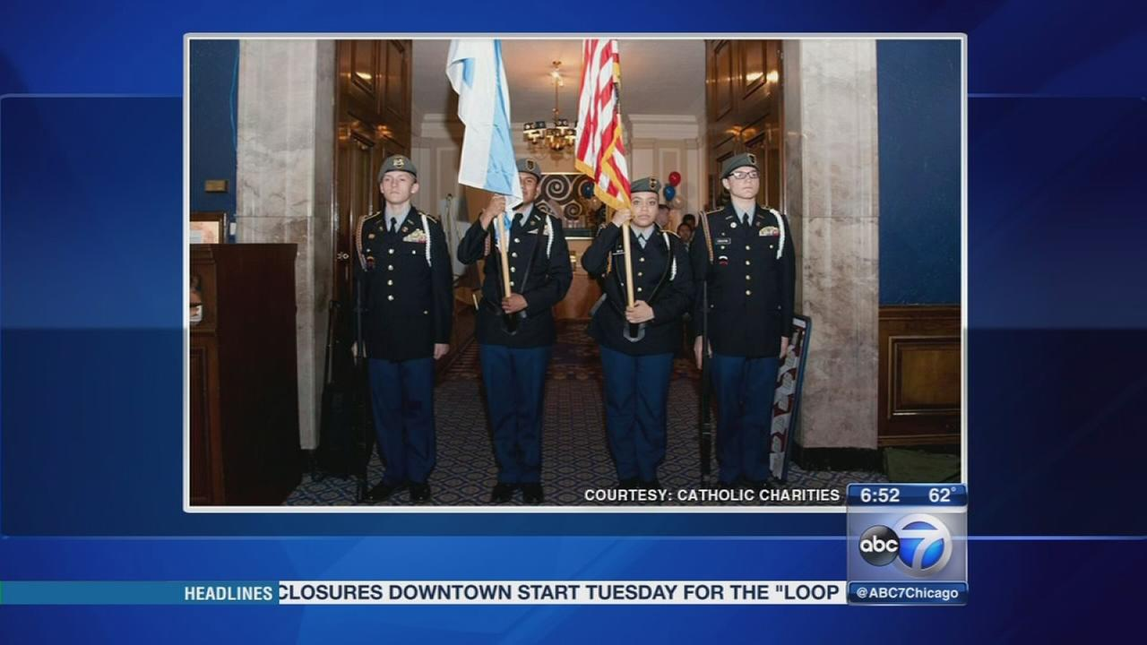 Chicago Catholic Charities hosts Veterans in Need dinner