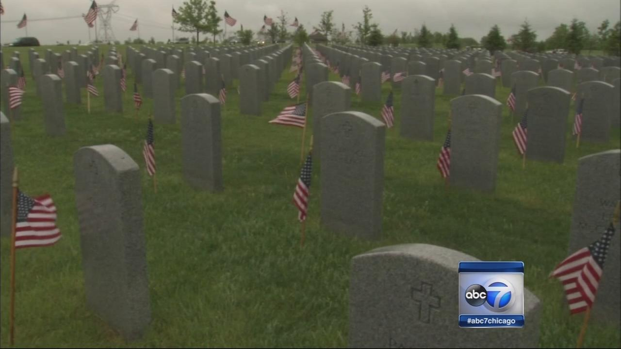 Fallen soldiers honored across Chicago area