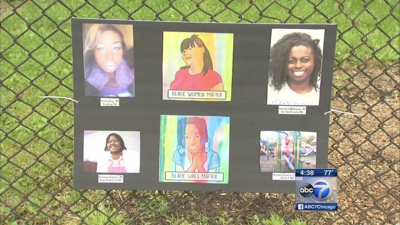 Protesters remember victims of police on Memorial Day