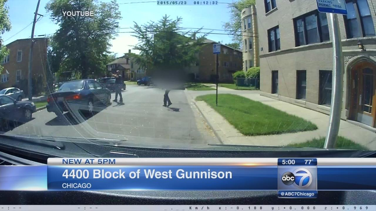 Albany Park shootout caught on video