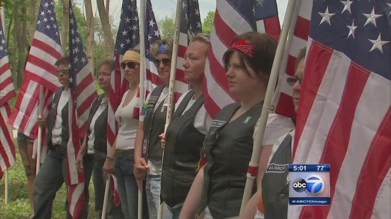 Monument to LGBT veterans dedicated in Elwood