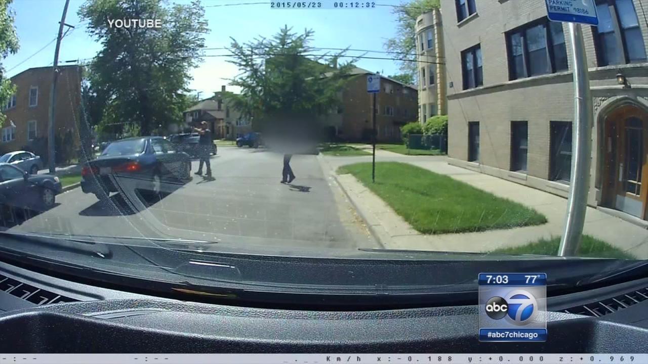 North Mayfair shootout caught on video
