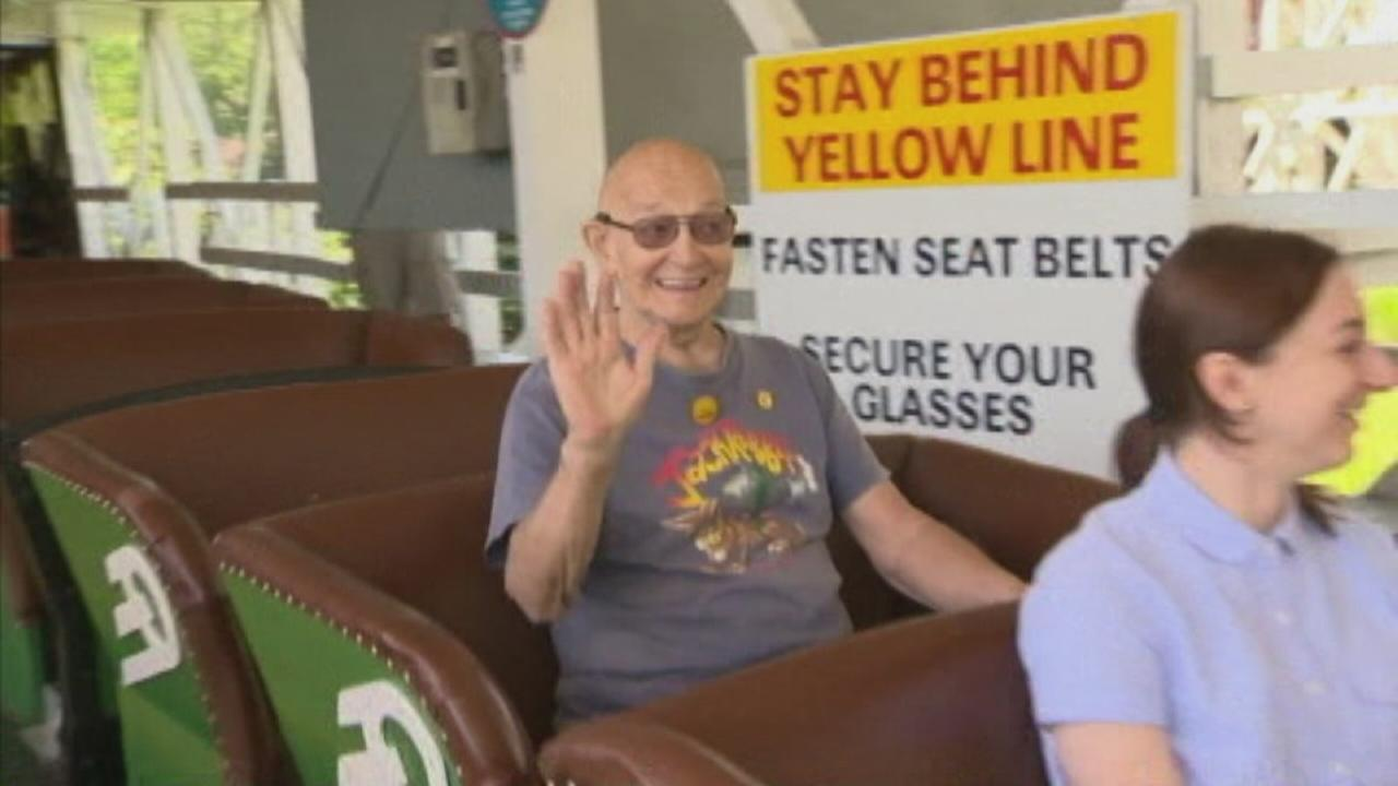 Man, 82, rides roller coaster 95 times in 1 day