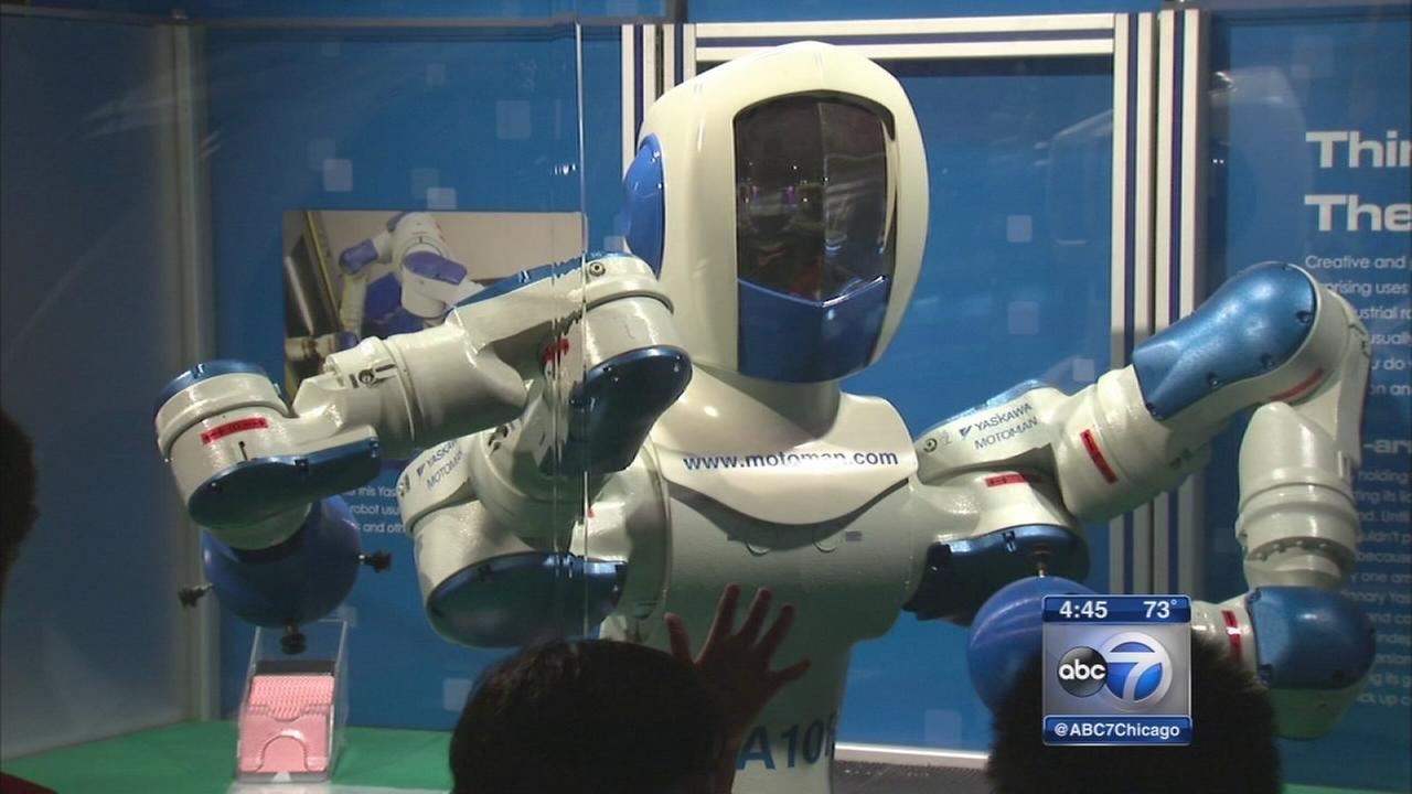 Robots take over MSI