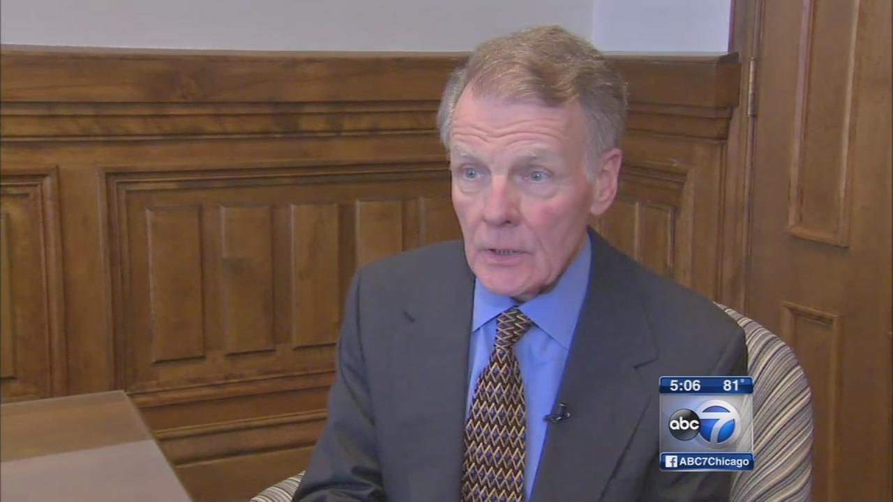Mike Madigan discusses state budget plan