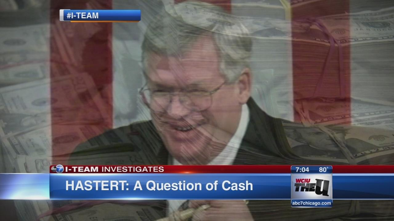Dennis Hastert: A question of cash