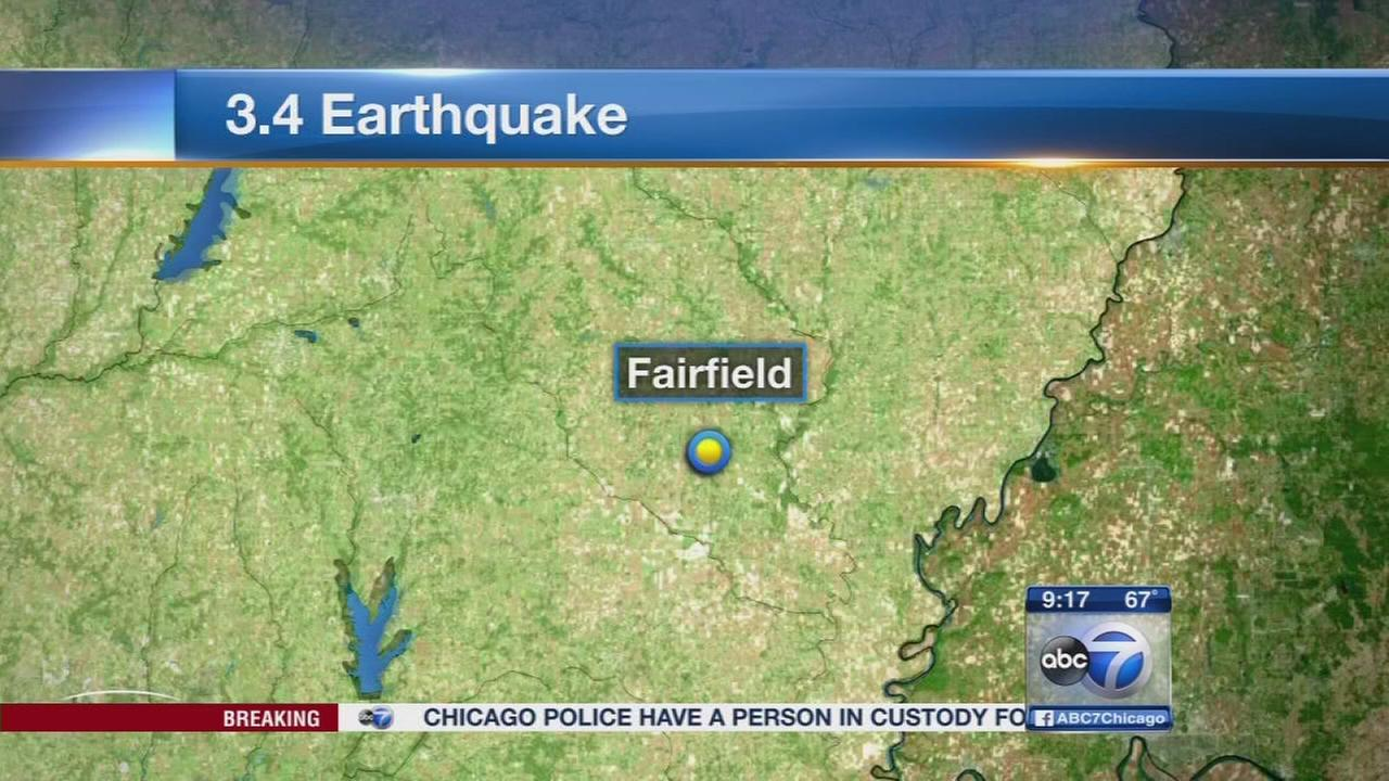 3.4 earthquake in IL