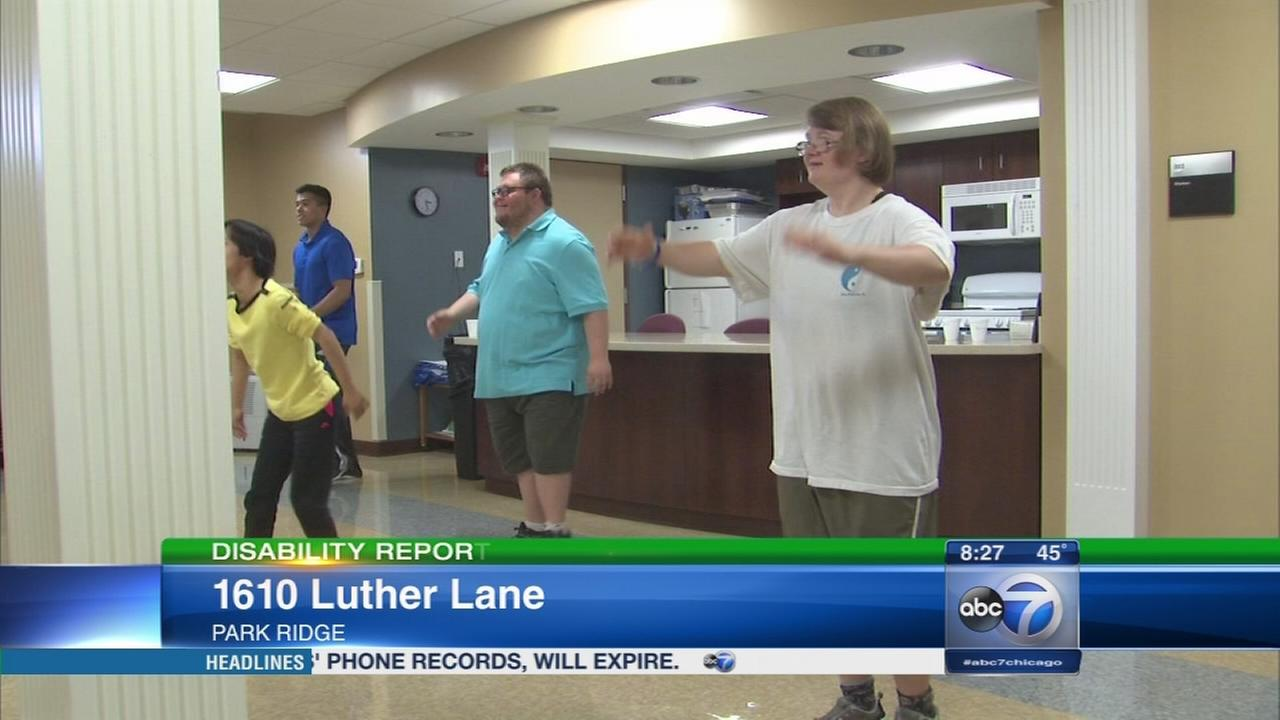 Fitness lessons encourage healthy living for those with Down syndrome