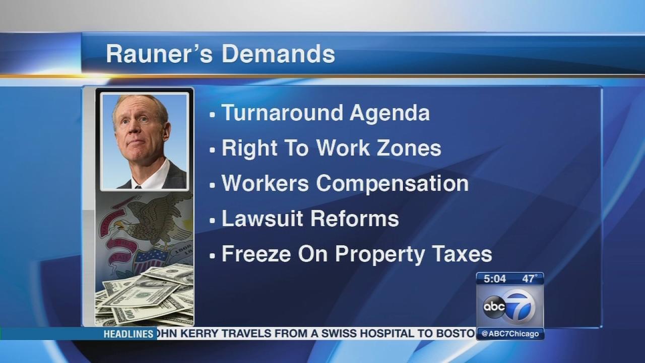 Governor targets Democrats after legislative session ends without budget deal