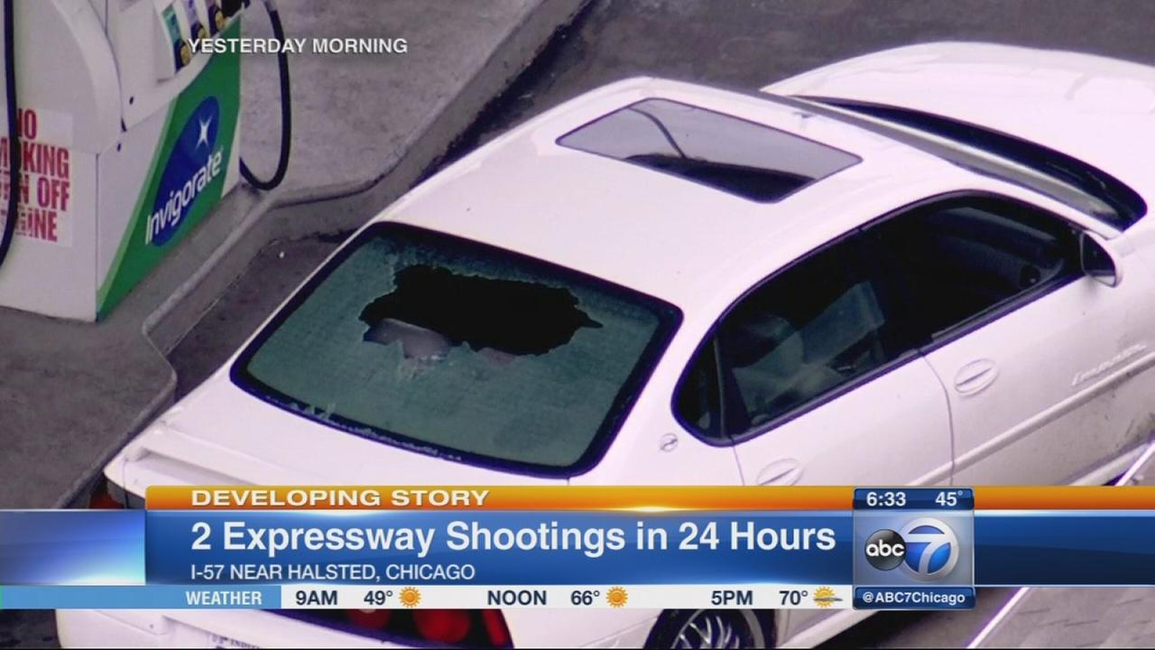 Shots fired on outbound Eisenhower Expy. near Kostner