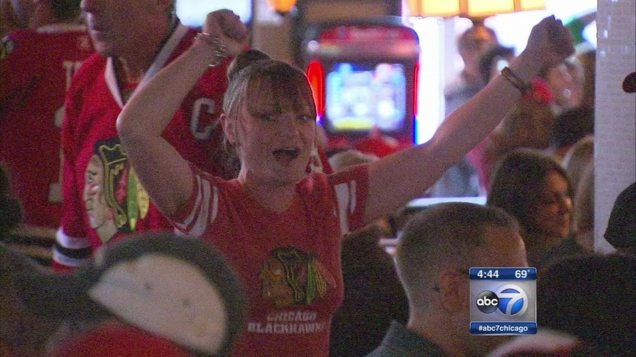 Mayor Emanuel welcomes Lightning fans to Chicago