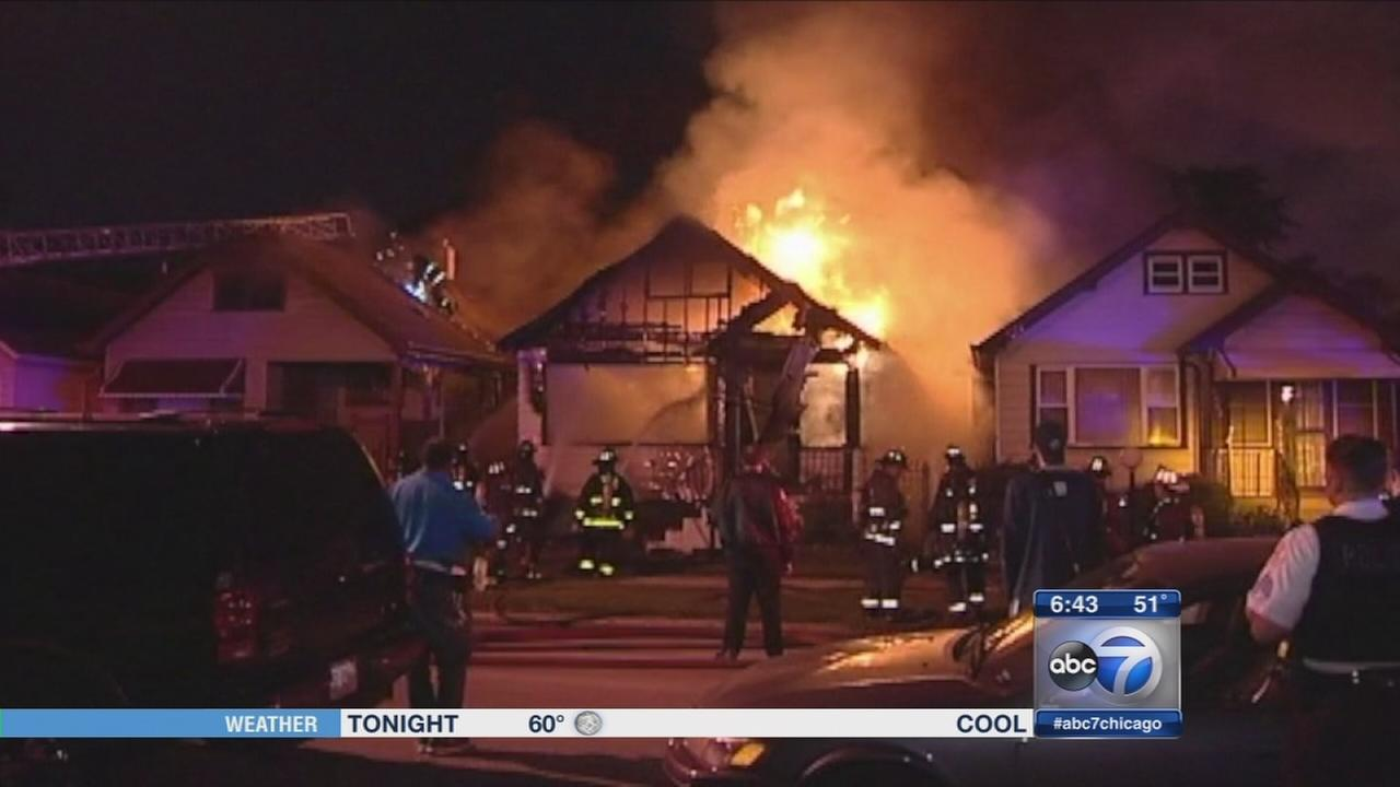 Three homes damaged by Fernwood house fire