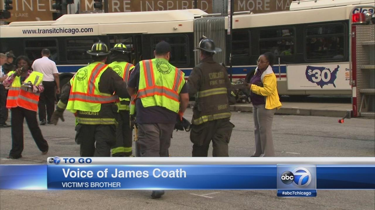 Woman killed in Michigan Avenue bus crash IDd