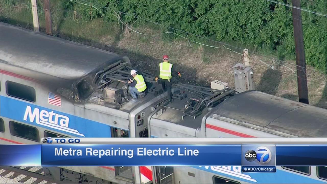 Metra trains delayed for morning rush
