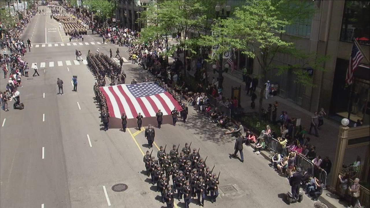 ABC7 broadcast of the Memorial Day Parade - Part 1