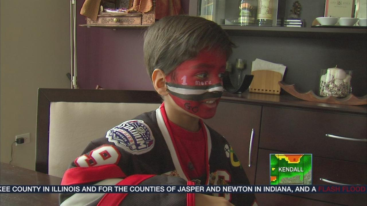 7-year-old Hawks fan is a hockey prediction wizard