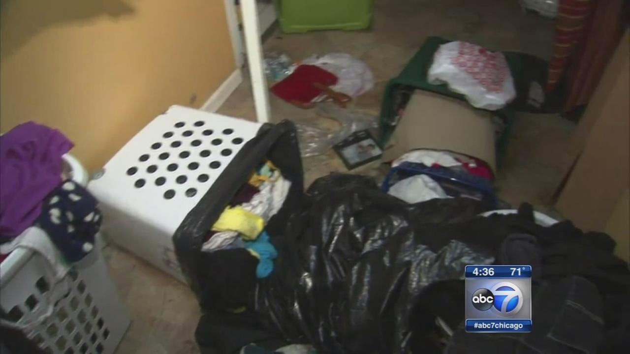 Maywood homes flood after storms