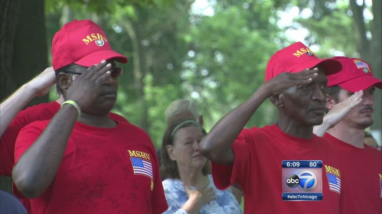 Homeless veterans getting helping hand