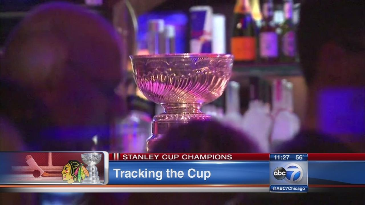 Stanley Cup heads out on the town