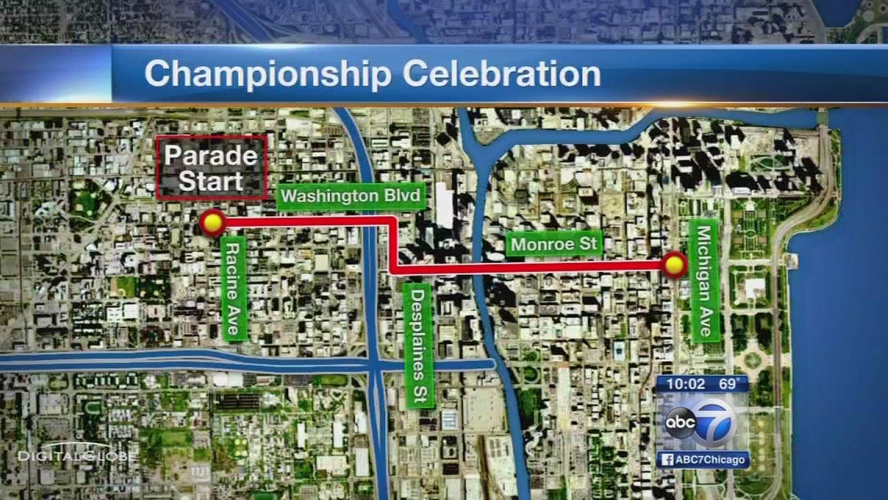 Blackhawks rally tickets sell out Parade route extended TVs added
