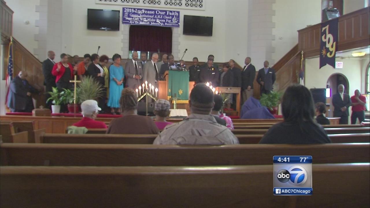 Local religious leaders host vigils for Charleston shooting