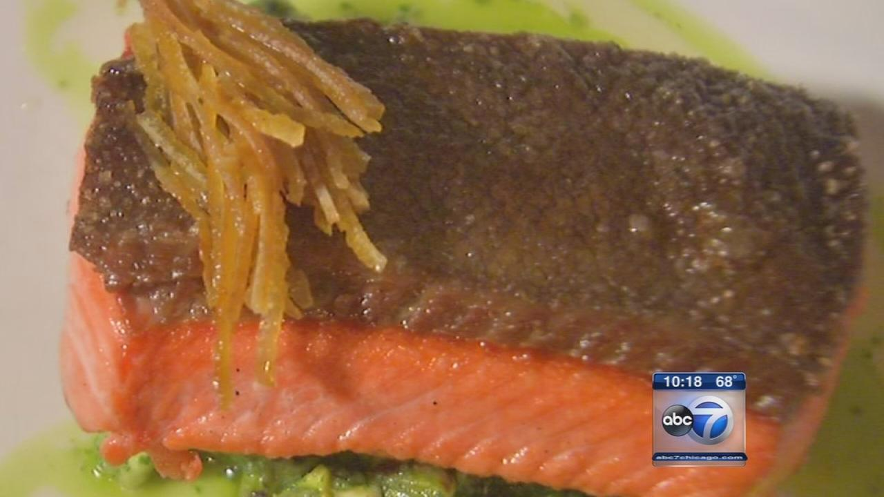 Balenas wild salmon in season in Lincoln Park