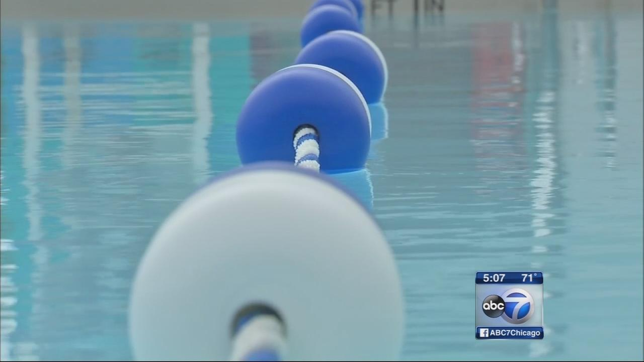 Cool, stormy weather dips suburban pool attendance