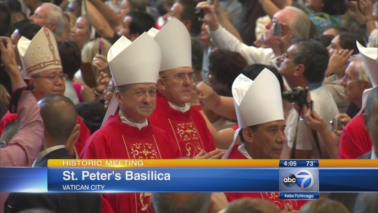 Archbishop Blase Cupich receives pallium in Rome