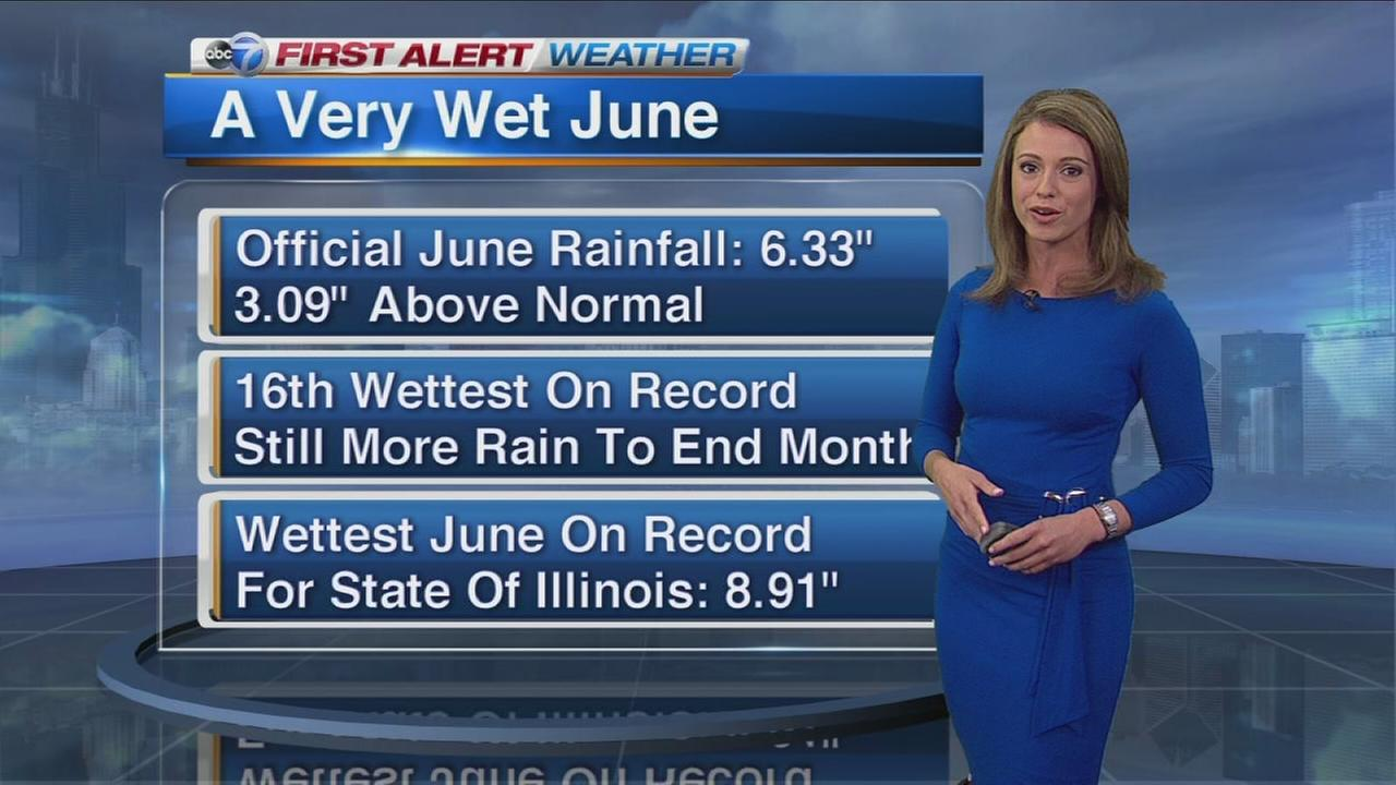 Wettest June in IL history