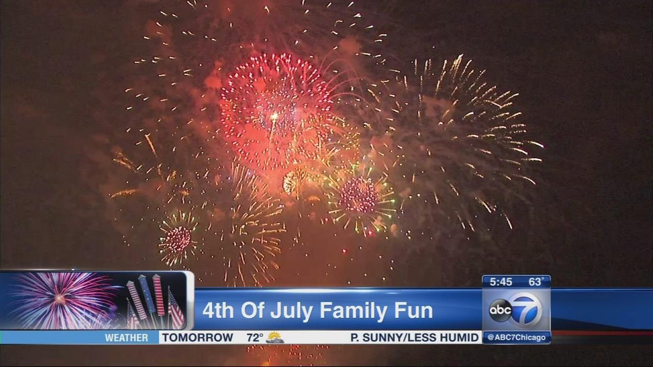 4th of July family fun with Donna Bozzo