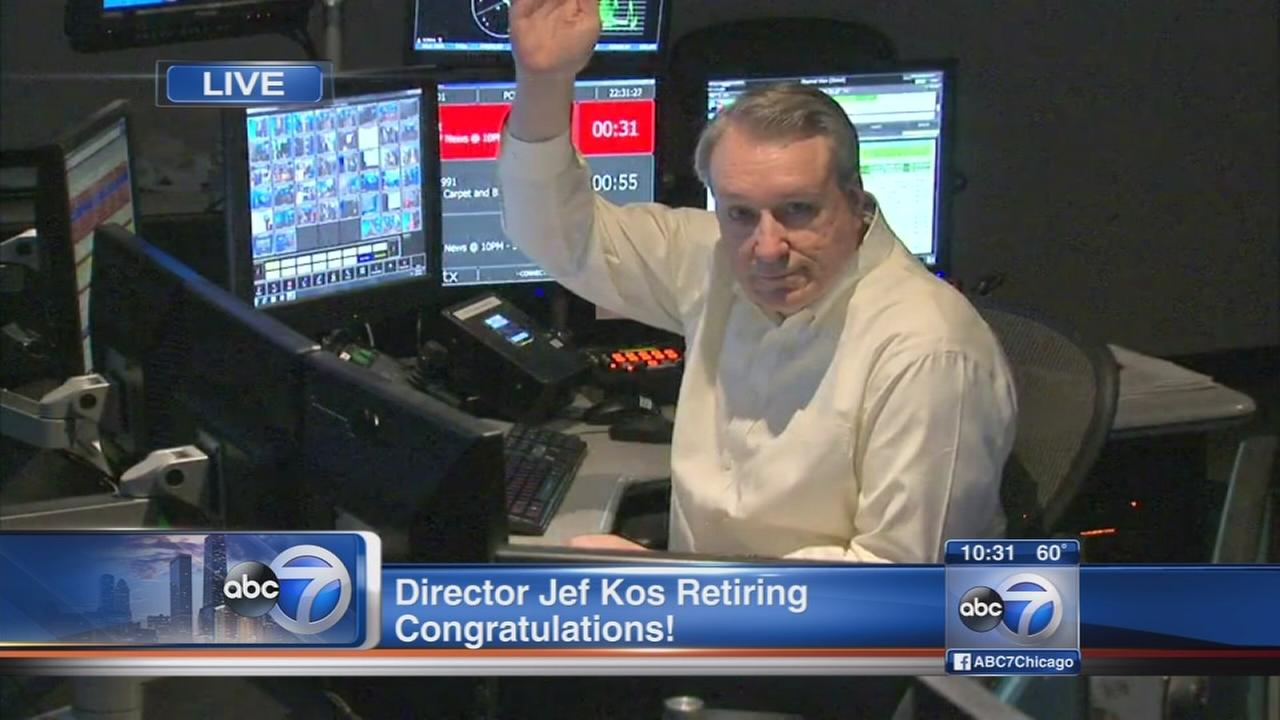 ABC7 director Jef Kos retires after nearly 40 years