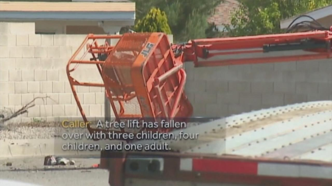 911 calls, video released in cherry picker crash that killed 3