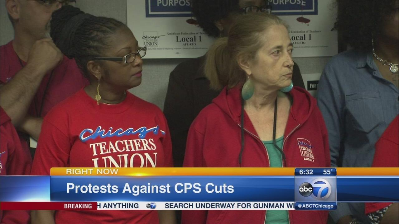 Teachers, parents to protest CPS cuts