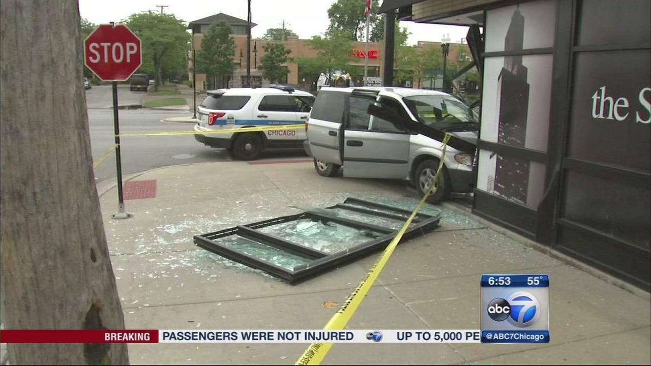 Possible crash-and-grab in Beverly